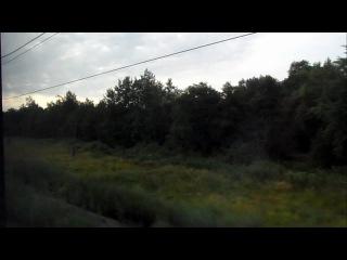 Вид из скоростного поезда