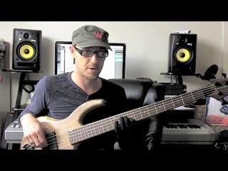 II VI Jazz Lick Bass Lesson (1) with Scott Devine