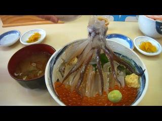 Японская еда - треш в чистом виде! ))