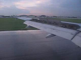 Посадка в Шереметьево (мой второй полёт в жизни)