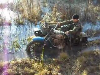 Полноприводный мотоцикл Урал 3х3