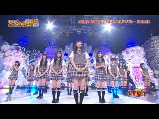 "NMB48 – ""Zetsumetsu Kurokami Shoujo"" (HEY! HEY! HEY! Music Champ Special 18.07.2011)"