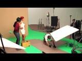Съемки рекламы для «Nivea»