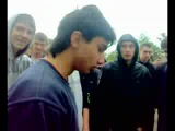 14-ти летний пацан, опустил толпу..))