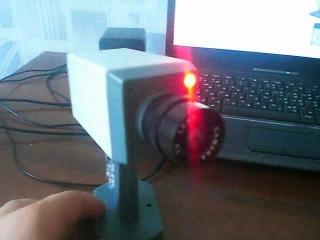 Фальшивая камера скрытого видео наблюдения с детектором движения и красным светодиодом