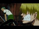 One Piece   Funny Moment! - Zoro, Sanji, Robin, Nami ван пис прикол аниме