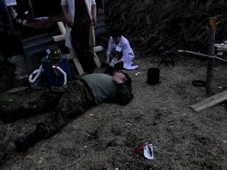 Раненые бандиты (печальное и поучительное видео)