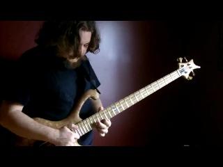 Классное соло на бас гитаре!!!! Aram Bedrosian - Going Under