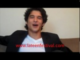 Tyler Posey from Teen Wolf talks about werewolves and Taylor Lautner