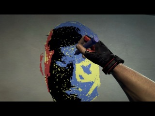Рисование Шепарда в Duke Nukem Forever