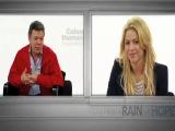 Шакира и Куинси Джонс в программе Rain of Hope Часть 2