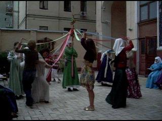 KALENDA MAYA. Танец с майским деревом - более сложный и красивый вариант)