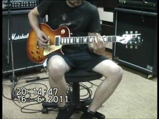 Gibson LP 58 Custom China drive
