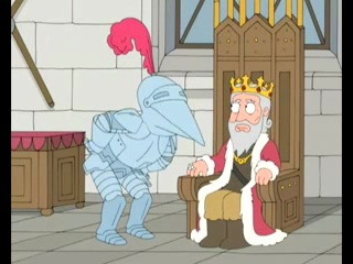 Гей - рыцарь [Гриффины как всегда мочат] :D