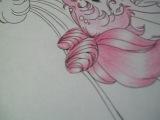 блики на волосах карандашом)))