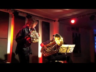 Arkady Shilkloper (French Horn) & Jon Sass (Tuba) live at Kunsthaus Glarus, Feb 26. 2011.
