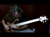 Aram Bedrosian - A Dark Light (очень красивая игра на бас гитаре)