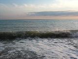 закат и волны , какая же красота)))