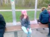 Девочки (12 лет) курят и ругаются матом
