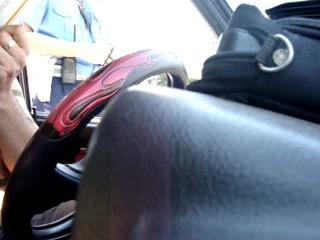 ГАИшник разводит аля вы не пропустили пешехода г. Сумы 14.07.2011 г. 8:13 утра