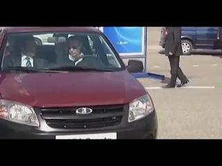 Путину представили новую Ладу Гранту и она не заводится)
