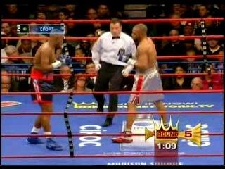 56. Рой Джонс vs Феликс Тринидад (19 января 2008 г.)