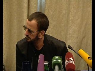 Пресс-конференция Ринго Старра 05.06.2011 Москва