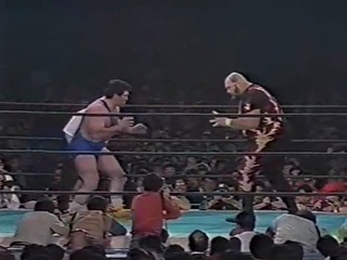 Салман Хасимиков vs Bam Bam Bigelow 1987