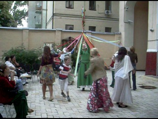 KALENDA MAYA. Танец с майским деревом.