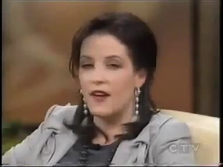 Lisa Marie Presley to Oprah, 2005