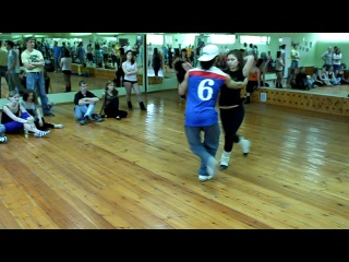 Leandro Olivier Maria Velichkina Zouk basic elements - Школа танцев BRAZUKA Wakko Masha www.brazuka.ru 7 926 73131