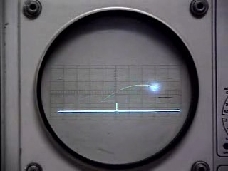 Теннис на осциллографе