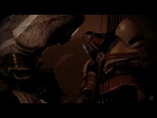 Mass Effect Тали и Шепард