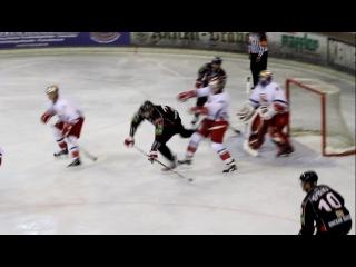 Avangard OMSK-Red Bull Salzburg 4.08.2011 первый гол Калюжный