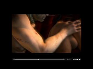Ведьмак 2 - Любовная сцена (Геральт и Трисс)