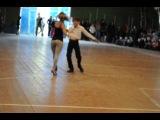 рассветный..Танцы со звездами =) Аня и мальчик Слава
