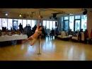 Miss Pole Dance Bayern 2010 Natalie Schönberger Gold Masterstudents