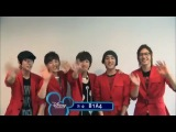 [CLIP] 110724 B1A4 (비원에이포) and other artists for Disney Channel Korea