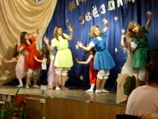 Танец кукол Последний звонок 25 мая 2011