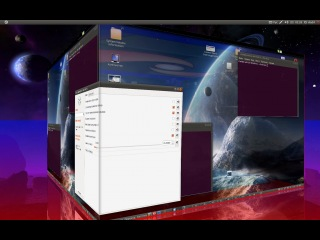 Нарешті записав відео про 3D Cube (Ubuntnu 3D Desktop)