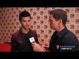 Fandango Talks To Taylor Lautner At The Comic-Con(video)