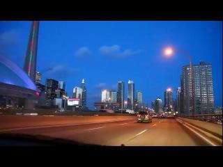 Night falls over Toronto или в России сейчас утро