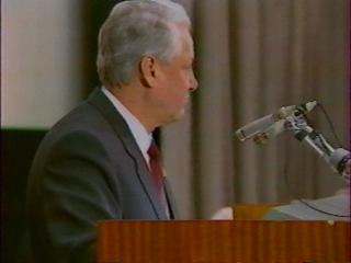 9 марта 1991 г. Выступление Ельцина в Доме кино.