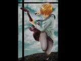 Моё первое творение^^Про анимееее,миу*