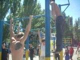 Street Workout Dnepropetrovsk.СЕВЕРНЫЙ 29.05.2011
