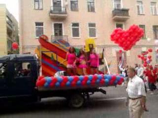карнавл-парад в Пушкине.1