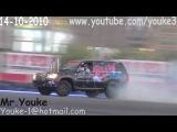 Toyota Land Cruiser 100 прикольный звук движка