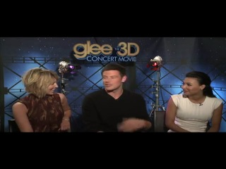 Glee: the 3D concert movie. The Biggest flirt
