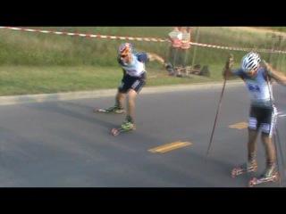 Rollski Worldcup Markkleeberg 2011 _ Claudon - Lebedev