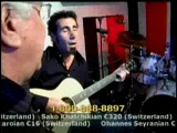 Serj Tankian и его отец поют армянскую песню